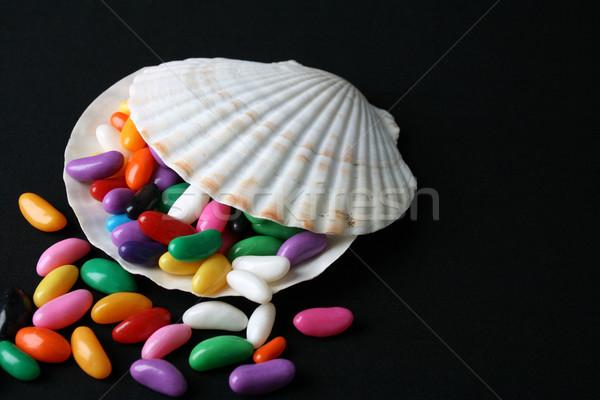 Jelly Beans Shell Stock photo © vanessavr