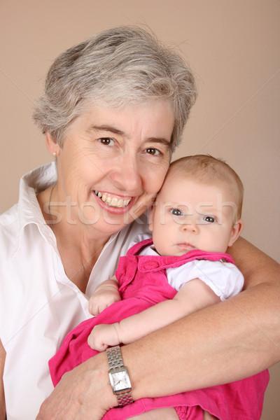 祖母 肖像 2 月 古い 家族 ストックフォト © vanessavr