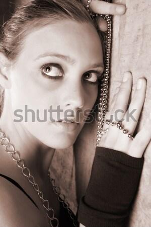 Classy female Stock photo © vanessavr
