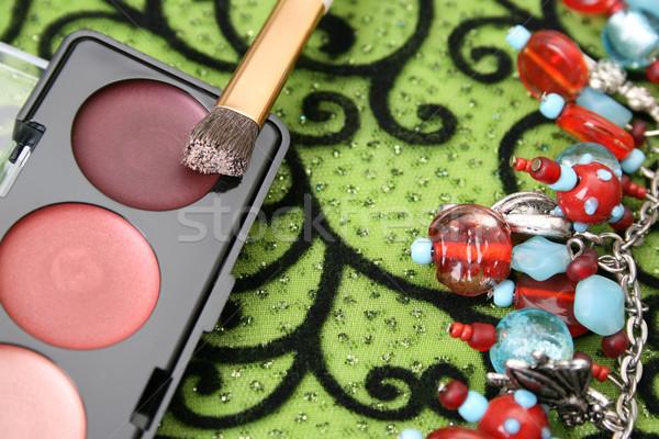 Make up and Jewellery Stock photo © vanessavr