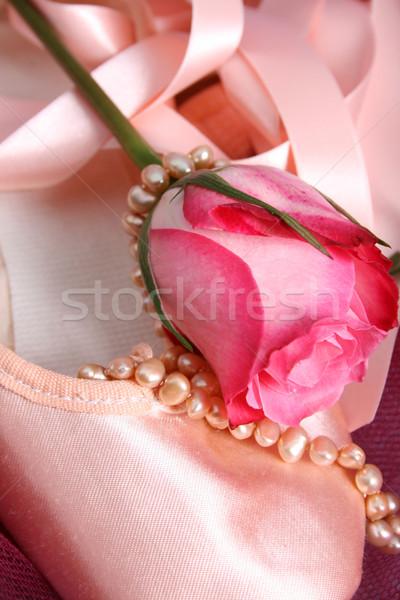 Ballet Pearls Stock photo © vanessavr