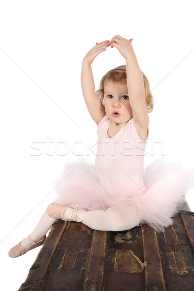 Ballet toddler Stock photo © vanessavr
