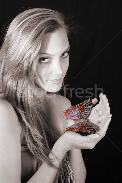 Female Model Stock photo © vanessavr