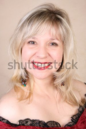 Blond Model Stock photo © vanessavr