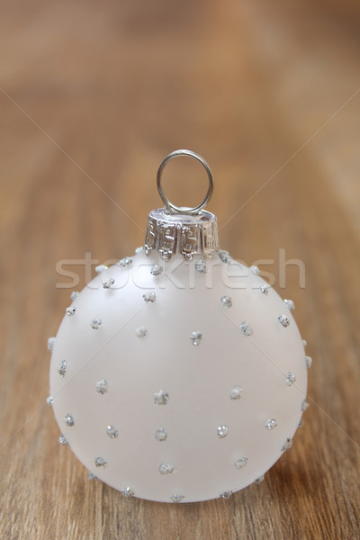стекла Рождества мяча украшение фон Сток-фото © vanessavr