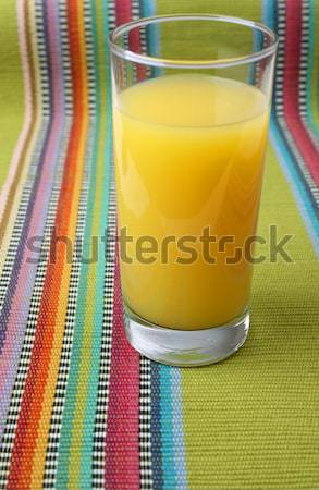Orange Juice and Crackers Stock photo © vanessavr