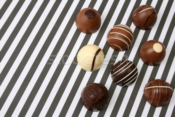 различный крест пустыне черный белый конфеты Сток-фото © vanessavr