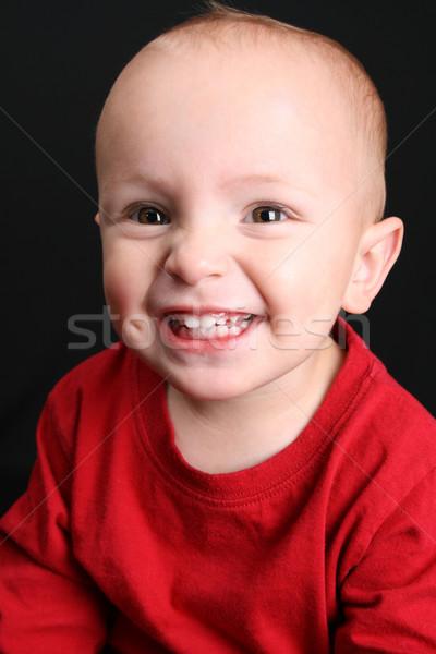 блондинка черный ребенка мальчика Сток-фото © vanessavr