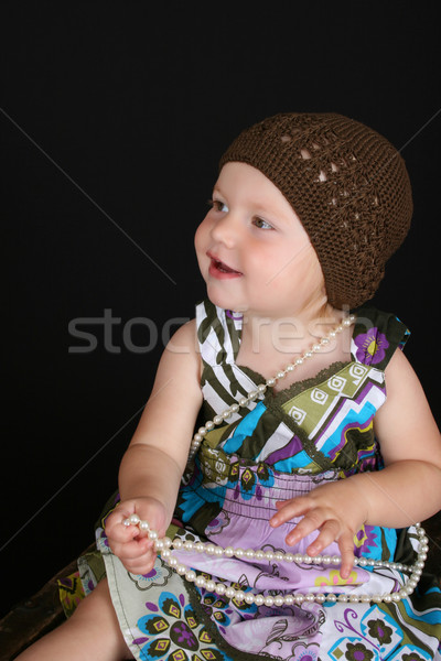 Beautiful toddler Stock photo © vanessavr