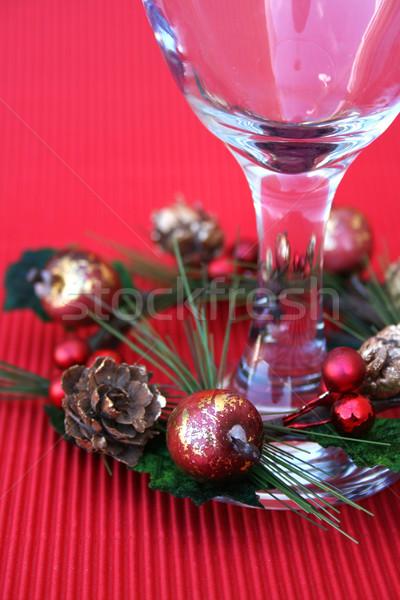 Wine Glass Stock photo © vanessavr