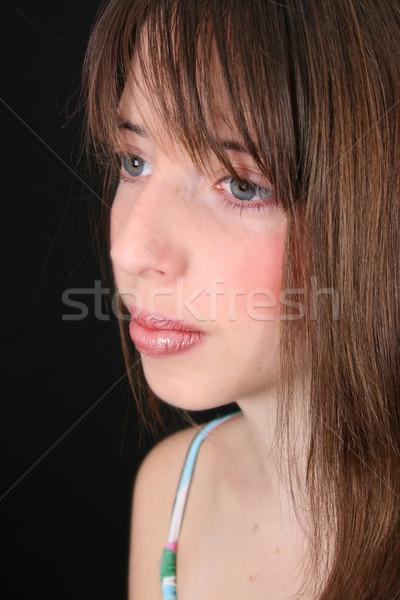 подростков модель красивой девушки Сток-фото © vanessavr
