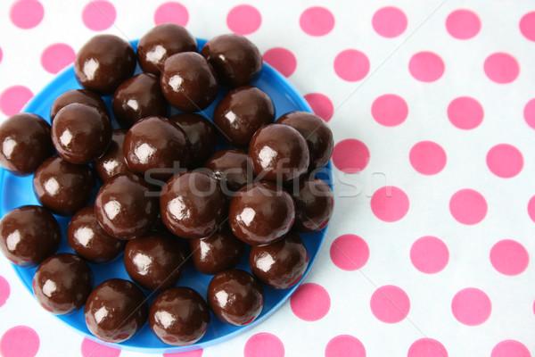 шоколадом ваниль темный шоколад дизайна стекла Сток-фото © vanessavr