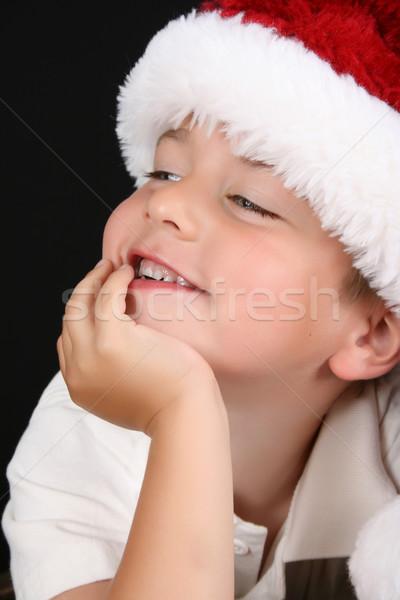 Christmas Boy Stock photo © vanessavr