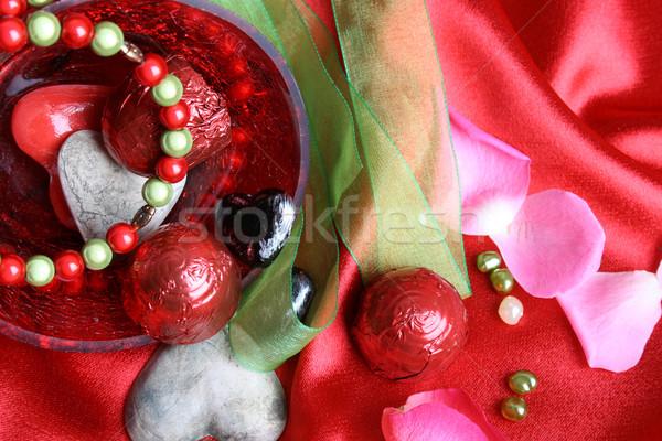 Valentines day hearts Stock photo © vanessavr