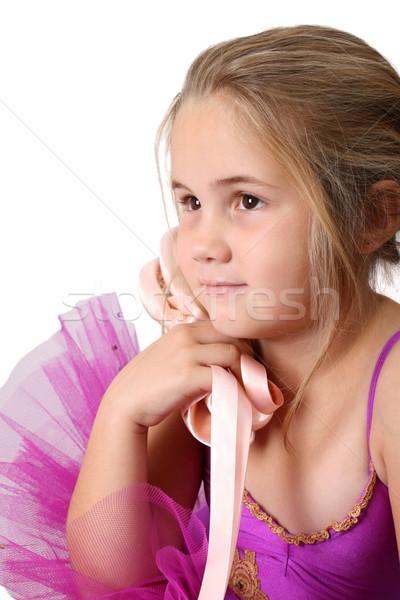 バレエ 少女 若い女の子 着用 夢 バレエダンサー ストックフォト © vanessavr