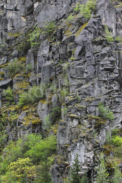Mountain wall Stock photo © vanessavr