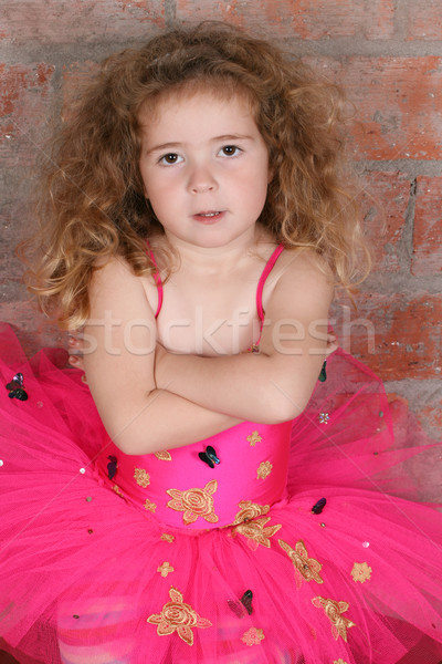 мечтатель девочку девушки ребенка волос Сток-фото © vanessavr