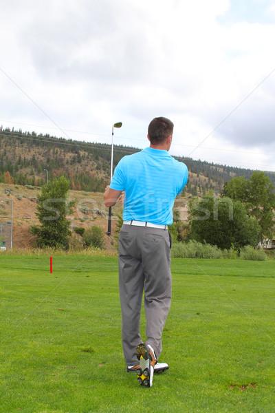 Golfer Stock photo © vanessavr