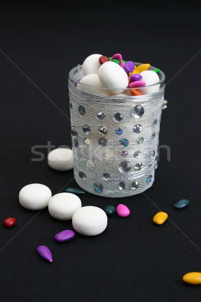 Decorated Glass Stock photo © vanessavr