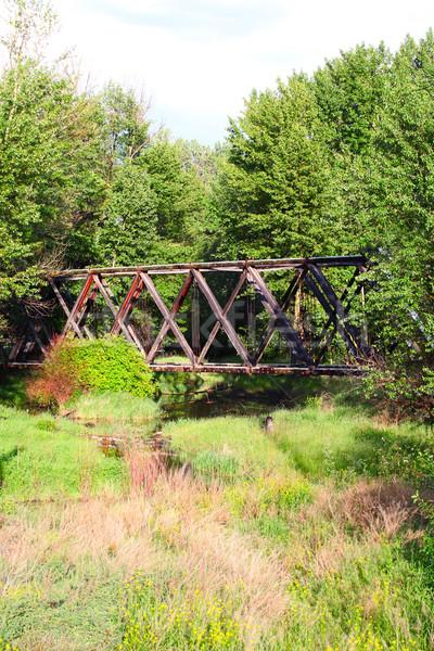 Old bridge Stock photo © vanessavr