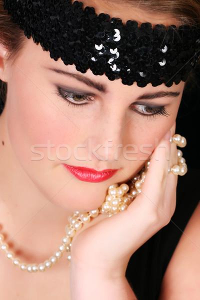 красивой женщины молодые стиль девушки Сток-фото © vanessavr