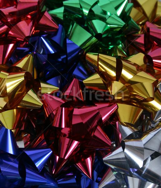 Natale archi varietà colorato regalo Foto d'archivio © vanessavr