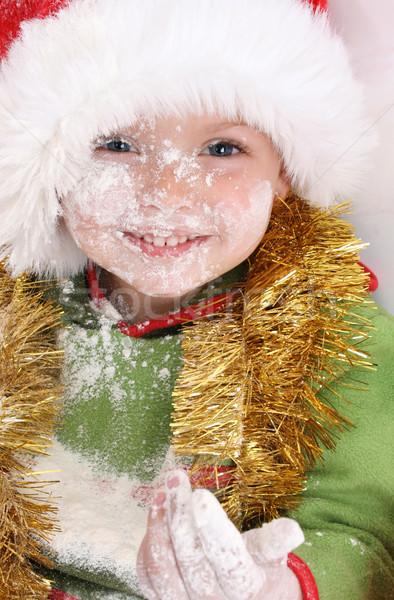 Baking Christmas Cookies Stock photo © vanessavr