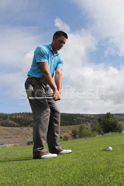 Golf preparation Stock photo © vanessavr