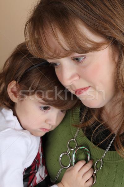 матери дочь портрет красивая девушка семьи любви Сток-фото © vanessavr
