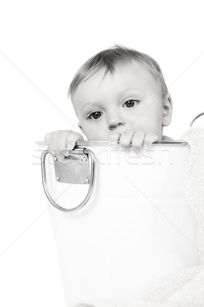 Bathing Baby Stock photo © vanessavr