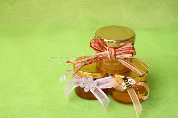 Honey Jars Stock photo © vanessavr