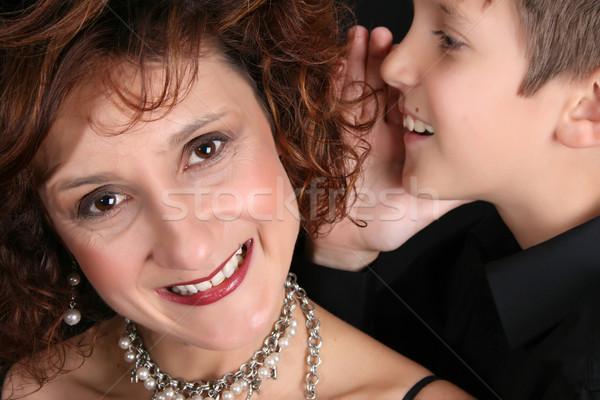 スタイリッシュ 母親 豊富な ストックフォト © vanessavr