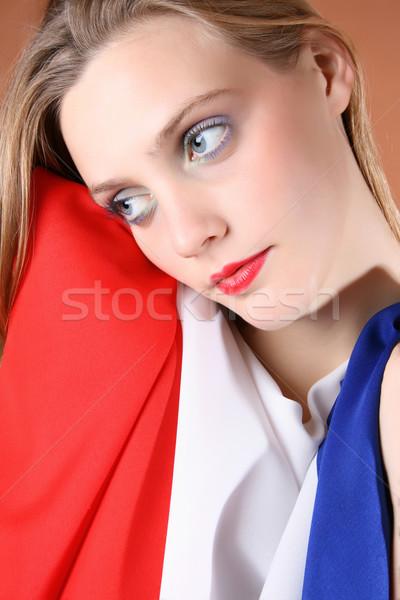 French Beauty Stock photo © vanessavr