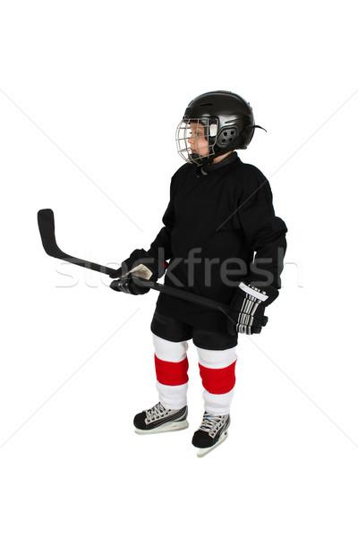 Ice Hockey Boy Stock photo © vanessavr