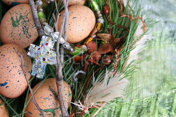 Easter Eggs Stock photo © vanessavr