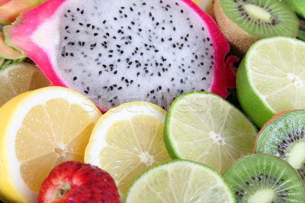 Sliced fruits Stock photo © vanessavr
