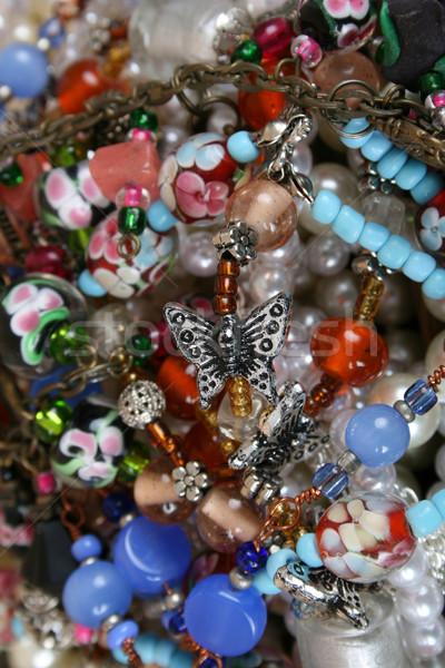 ювелирные изделия разнообразие красочный моде красоту ювелирные Сток-фото © vanessavr