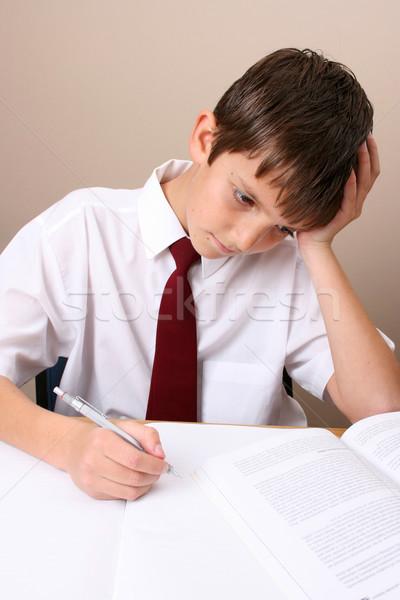 School Boy Stock photo © vanessavr