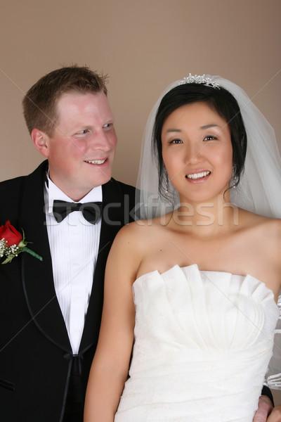 Bridal Couple Stock photo © vanessavr