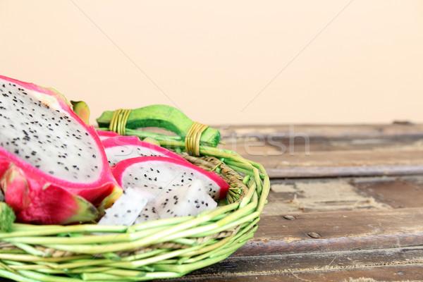 Pitahaya Dragon Fruit Stock photo © vanessavr