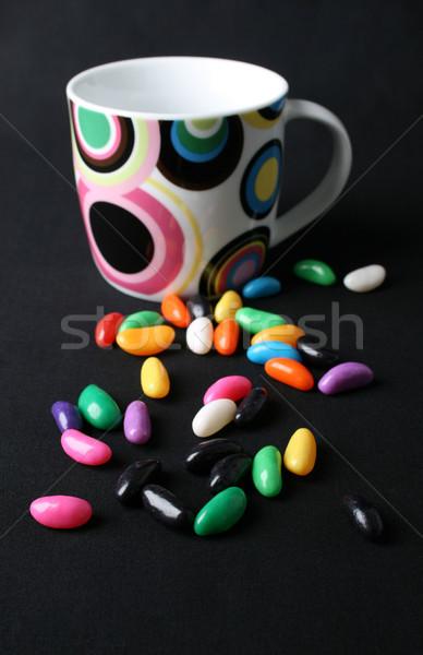 Jelly Beans and Mug Stock photo © vanessavr