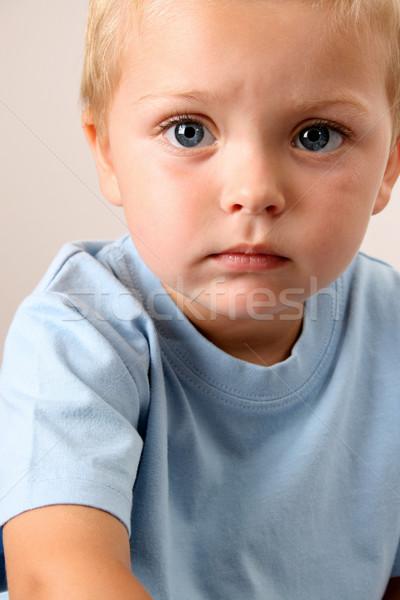 красивой мальчика большой Сток-фото © vanessavr
