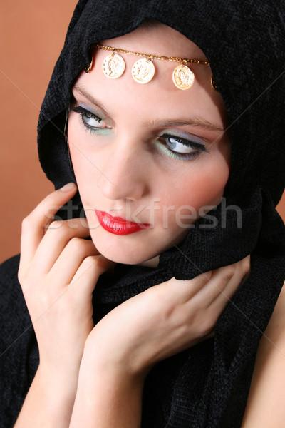 Folk Dress Stock photo © vanessavr
