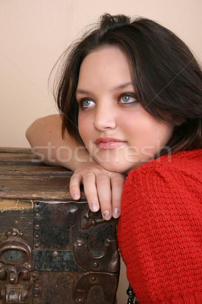 Beautiful teen Stock photo © vanessavr