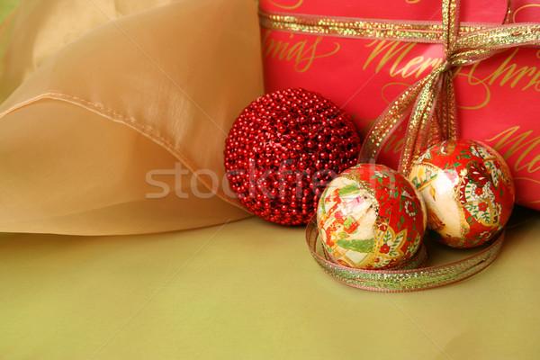 Christmas Gifts Stock photo © vanessavr