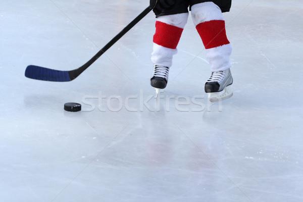 Pond Hockey Stock photo © vanessavr