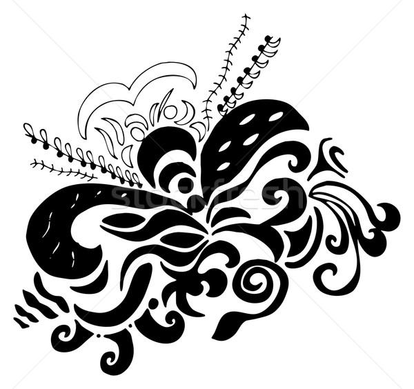 swirls organic design Stock photo © vanessavr