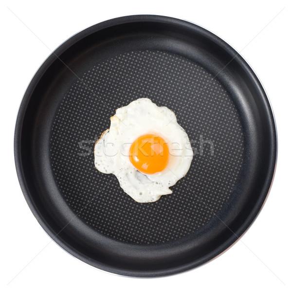 Pan padella colazione bianco Foto d'archivio © vankad
