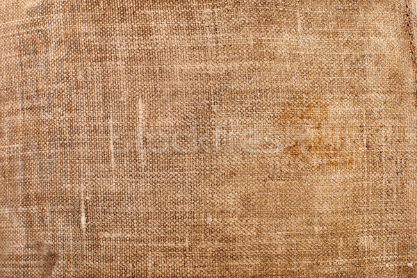 Texture of an old dirty sack Stock photo © vankad