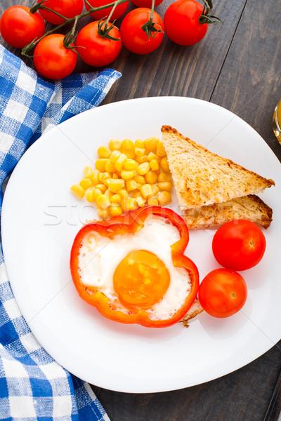 Сток-фото: Sweet · красный · томатный · кукурузы